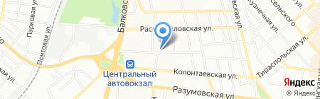 Svetish на карте Одессы