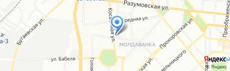 Честор на карте Одессы
