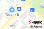 Схема проезда до компании Інтертелеком в Одессе