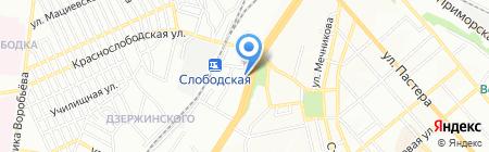 Банк Фінанси та Кредит на карте Одессы