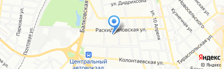 Магазин запчастей для бытовой техники на карте Одессы