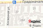 Схема проезда до компании Терра-бит в Одессе
