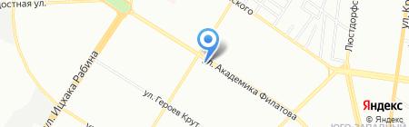 ТВ-дом на карте Одессы