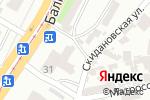 Схема проезда до компании Клео в Одессе