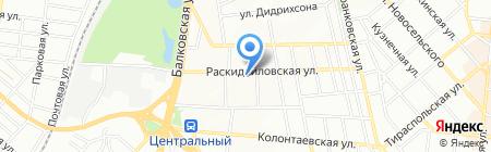 Ветеринарная аптека на карте Одессы