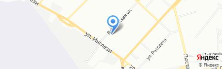 УТОС на карте Одессы