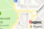 Схема проезда до компании Одесский колледж транспортных технологий в Одессе