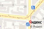 Схема проезда до компании Все для дома в Одессе