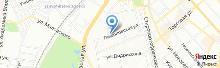 Новый Акрополь на карте Одессы