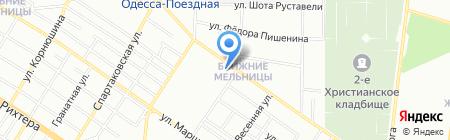 Одесская общеобразовательная школа №8 I-III ступеней на карте Одессы