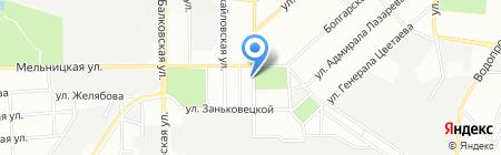 СпортМаг на карте Одессы