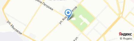 Троянда на карте Одессы
