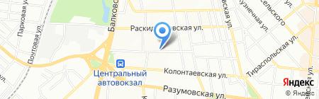 Виттана на карте Одессы
