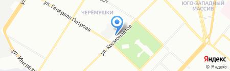 Лес и Сад на карте Одессы