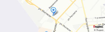Універсальна на карте Одессы