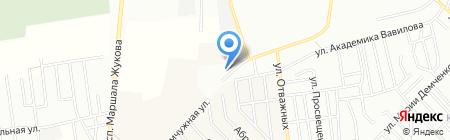 Бельвитек на карте Одессы