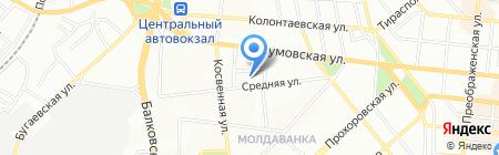 Нове діло на карте Одессы