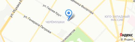 УкрПрофи на карте Одессы