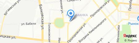 Элит-электро на карте Одессы
