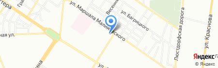 Банкомат Креді Агріколь Банк на карте Одессы