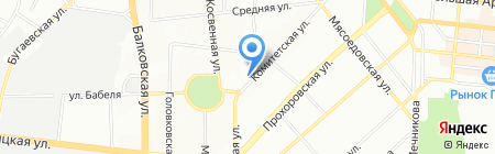Акватория на карте Одессы