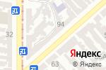 Схема проезда до компании Одесский городской сервис в Одессе
