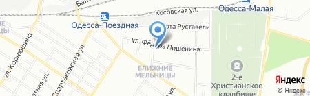 Баймед на карте Одессы