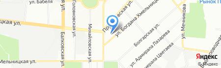 Вечерняя (сменная) общеобразовательная школа №3 II-III ступеней на карте Одессы