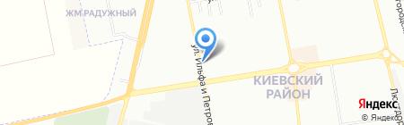 Ателье мод на карте Одессы
