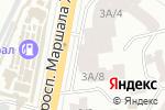 Схема проезда до компании Орион в Одессе