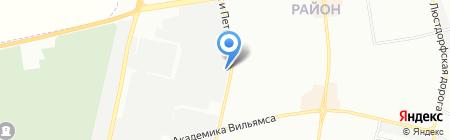 Диоль на карте Одессы