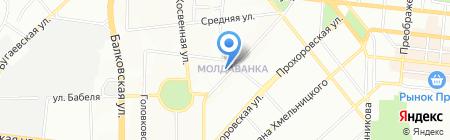 Промдизайн на карте Одессы