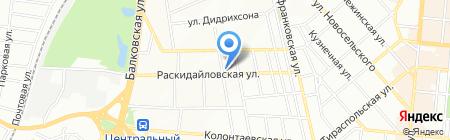 Офис-Мастер на карте Одессы