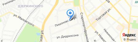 Квазар-1 на карте Одессы