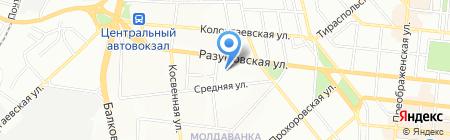КВН Техно на карте Одессы