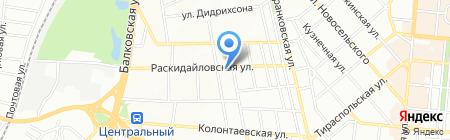 Петромастер на карте Одессы