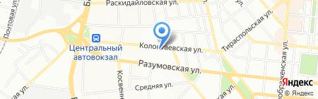 Электродом-57 на карте Одессы