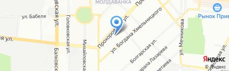 Одесская общеобразовательная школа №18 I-III ступеней на карте Одессы