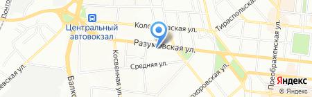 Булат Центр на карте Одессы