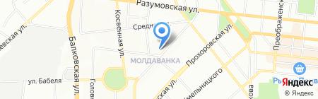 Альфа-юг сервис на карте Одессы
