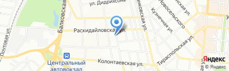 Детский сад-ясли №143 на карте Одессы