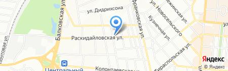 Союз Граждан Одессы на карте Одессы