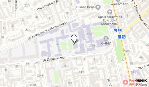Банкомат Імексбанк. Схема проезда в Одессе