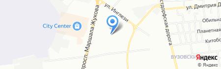 Мистер X на карте Одессы