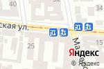Схема проезда до компании Гюнсел в Одессе