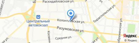 Гюнсел на карте Одессы