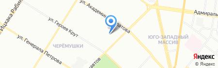 Детский сад-ясли №170 на карте Одессы