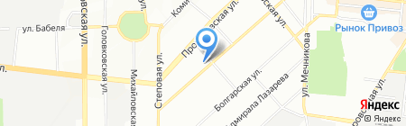 Организация ветеранов на карте Одессы