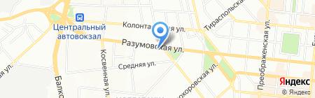 Нота Бене! на карте Одессы
