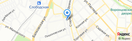 Детский сад-ясли №175 на карте Одессы